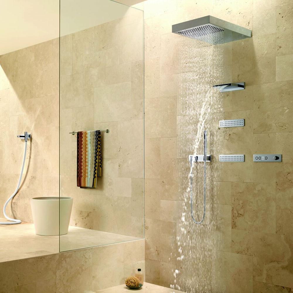 Dusche Wasserstrahl