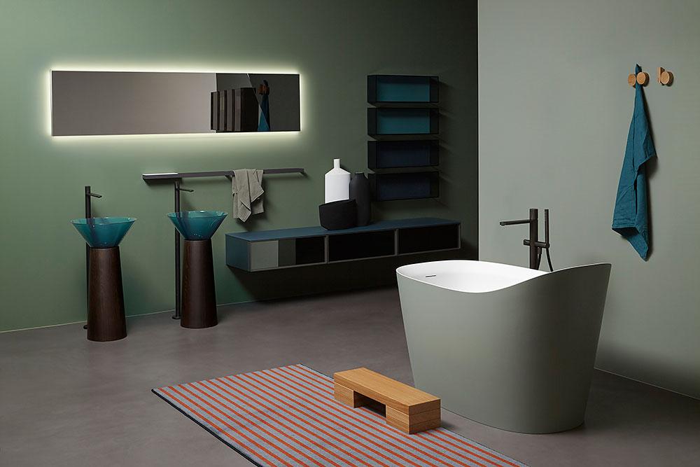 Antonio Lupi design aus Italien - Badmöbel - Badewannen finden Sie in der Schweiz in Zürich Luzern Zug Kanton Zürich oder auch im Kanton Aaargau