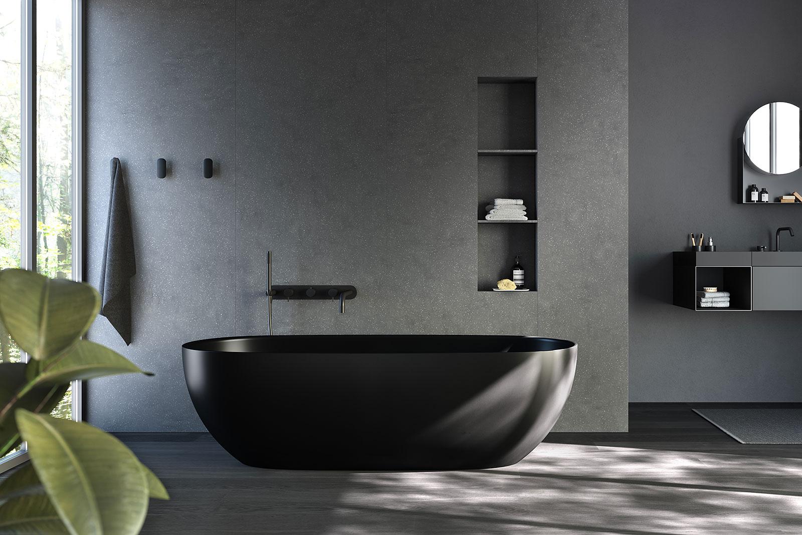 Freistehende Badewanne RexaDesign und Bademöbel finden Sie in unseren - Bagno Sasso Ausstellungen Landquart - Zürich