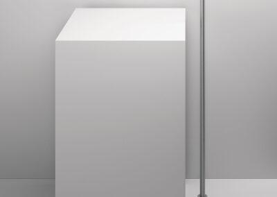 Badezimmer freistehender Waschtischauslauf von der Edelstahlserie Zazzeri Z316 entsprechen allen Schweizer Normen. Dies Collection bietet auch von den klassischen Badarmaturen und Duschenmischer bis zum Bidetmischer viele Badezimmerarmaturen an. Auch sind einige Farben in PVD erhältlich.