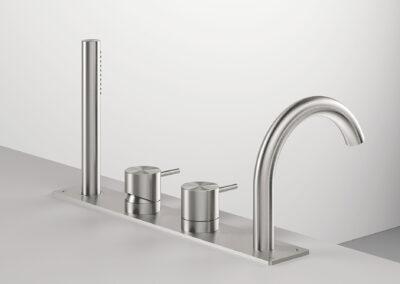 Die Badezimmer Armaturen Zazzeri Z316 entsprechen allen Schweizer Normen. Dies Collection bietet auch von den klassischen Badarmaturen und Duschenmischer bis zum Bidetmischer viele Badezimmerarmaturen an. Auch sind einige Farben in PVD erhältlich.