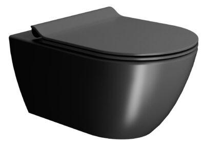 GSICeramicaschweiz Keramikwaschtische Toiletten in schwarz Schwarzekeramik
